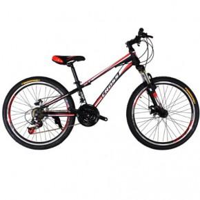 Велосипед Cross Racer 24 дюйма красный