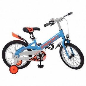 Детский велосипед Profi W16115 16 дюймов голубой