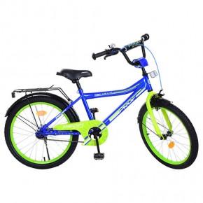 Детский велосипед PROF1 Top Grade L20103 20 дюймов для мальчика сине-зеленый