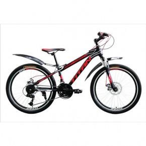 Велосипед Titan Street 24 2017 красный