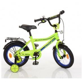 Двухколесный велосипед Profi Top Grade 18 дюймов L18104 для мальчика зеленый