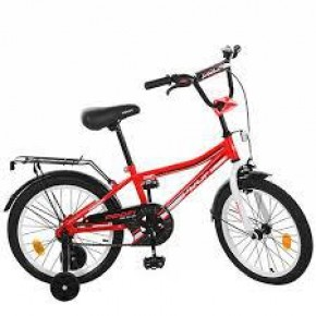 Двухколесный велосипед Profi Top Grade 18 дюймов L18104 для мальчика красный
