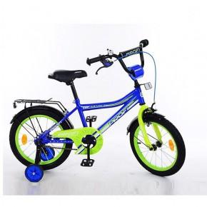 Двухколесный велосипед Profi Top Grade 18 дюймов L18104 для мальчика синий
