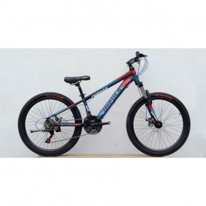 Велосипед Impuls 24 Morgan blue-red 24181E