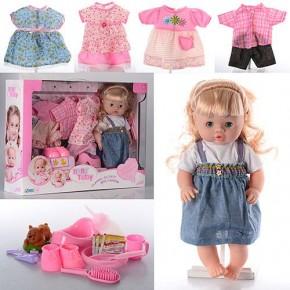 Кукла Baby Toby 30800, 5 платьев Беби Тоби говорит 9 фраз 30800-7С