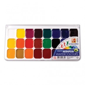 Краски акварельные 24 цветов