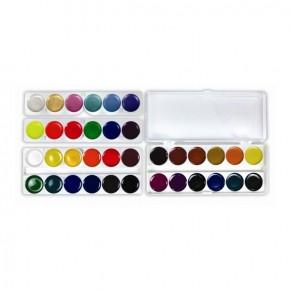 Краски акварельные 36 цветов