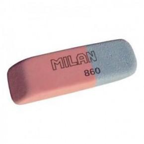 Ластик, резинка стирательная Milan 860, скошенный