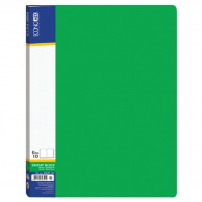 Папка пластиковая А4, с 60 файлами Е30606, Economix