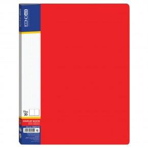 Папка пластиковая А4, с 30 файлами Е30603, Economix