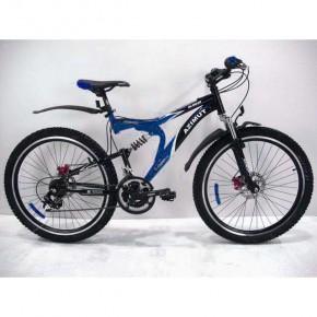 Азимут Бластер 26 ( Azimut Blaster 26 127G) двухподвесный горный велосипед.