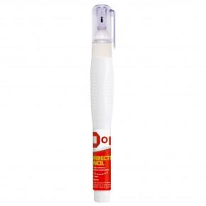 Корректор-ручка Optima O41318 с металлическим наконечником