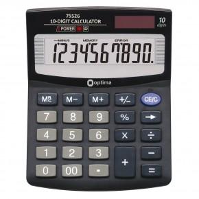 Калькулятор Optima 12 разрядный электронный 200*154*36мм О75525