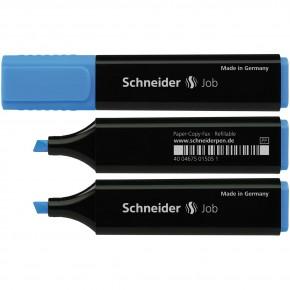 Маркер текстовыделитель Schneider Job 150, синий S1503