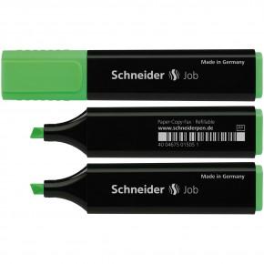 Маркер текстовыделитель Schneider Job 150, зеленый S1504