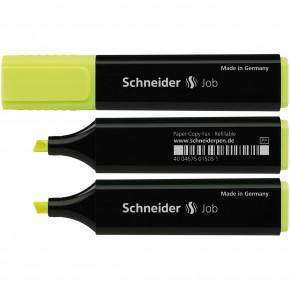 Маркер текстовыделитель Schneider Job 150, желтый S1505