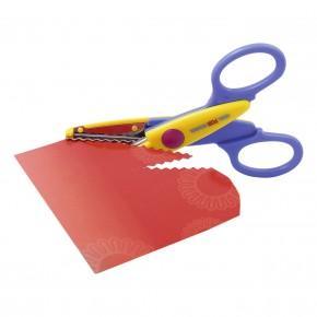 Ножницы для аппликаций Cool For School 13,5 см фигурная волна CF49451