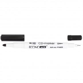 Маркер для CD Economix двухсторонний  E11603