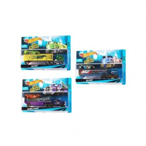 Машина дальнобойщика Hot Wheels Mattel BDW51
