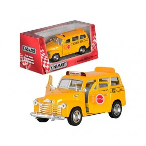 Коллекционная машинка Kinsmart KT 5005 W Chevrolet Suburban School Bus