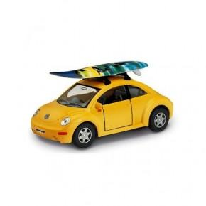Коллекционная машинка Kinsmart KT 5028 W Volkswagen Beetle