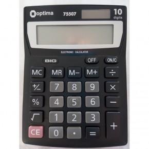 Калькулятор Optima 12 разрядный электронный 137*103*32мм О75507