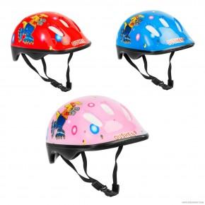Детский защитный шлем Овшен 466-121 для велосипедов, роликов, скейтов, самокатов