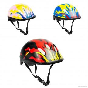 Детский защитный шлем Овшен 466-120 для велосипедов, роликов, скейтов, самокатов
