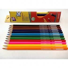 Цветные карандаши треугольные