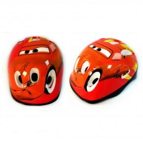 Детский защитный шлем Тачки для велосипедов, роликов, скейтов, самокатов