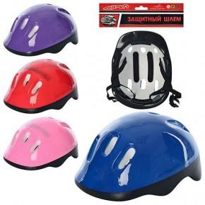 Детский защитный шлем Профи 0014 для велосипедов, роликов, скейтов, самокатов