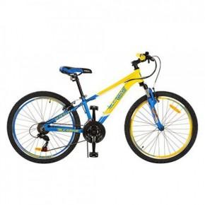 Велосипед Профи Кид Стиль Украина 24 дюйма Profi Kid G24A315 UKR-2 алюминиевая рама