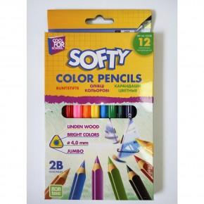 Цветные карандаши Джамбо