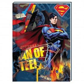 Блокнот , А6, 80 листов,Супермен SM04272-01, в клетку