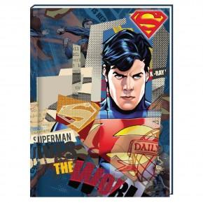 Блокнот , А6, 80 листов,Супермен SM04272-02, в клетку
