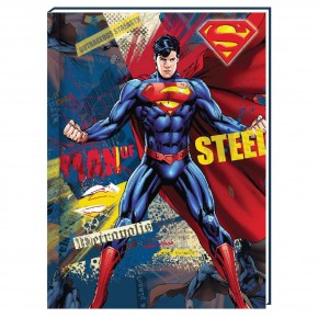 Блокнот , А6, 80 листов,Супермен SM04272-03, в клетку