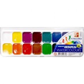 Краски акварельные 16 цветов
