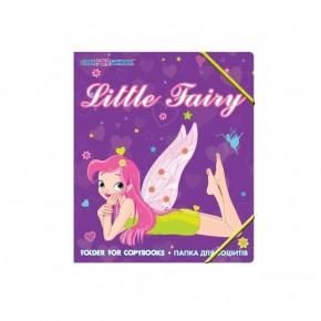 Папка для тетрадей пластиковая на резинке, Cool For School 32003-02 Little Fairy