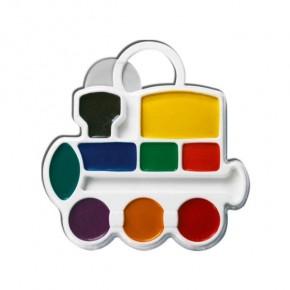 Краски акварельные 9 цветов