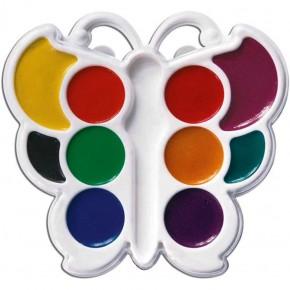 Краски акварельные 10 цветов