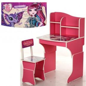 Парта детская со стульчиком Vivast MV-904 для школьников Виваст регулируемая