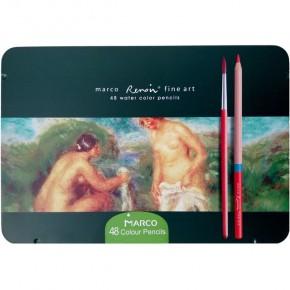 Цветные карандаши Marco Акварельные