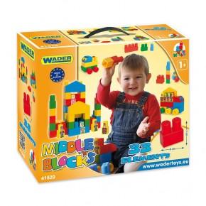 Конструктор 33 элемента в коробке Wader, 41520, Вадер для детей
