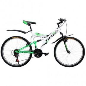Велосипед горный Titan Tornado 26 дюймов, двухподвес