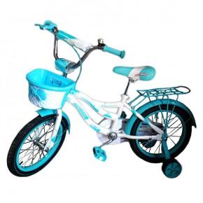 Детский велосипед Azimut Kiddy 16 д для девочки от 4-7 лет