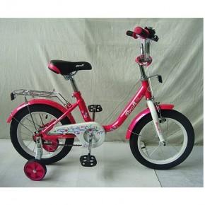 Детский двухколесный велосипед PROF1 Flower 14 дюймов для девочки