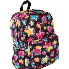Подростковый рюкзак CF85877 Cool For School черный со звездами