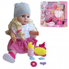 Кукла-пупс Yale Baby BLS001A интерактивная, с аксессуарами