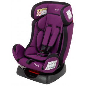 Автокресло Bair Sigma 0+/1/2 (0-25 кг) DS1824 черный - фиолетовый