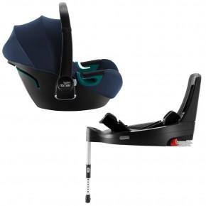Автокресло Britax-Romer Baby-Safe3 i-Size Indigo Blue с платформой Flex Base